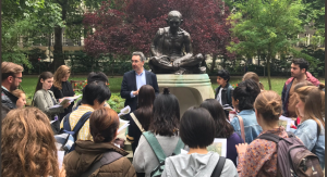 Students on the 2017 Rebels and Radicals walking tour, part of the SOAS Summer School 2017