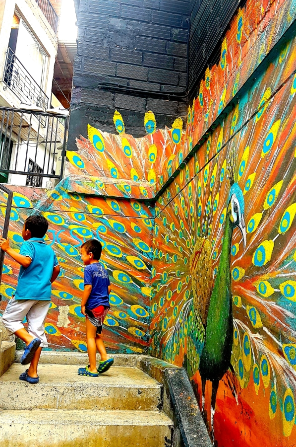 Once labelled the most dangerous community in Medellin, Comuna 13 has a bright future