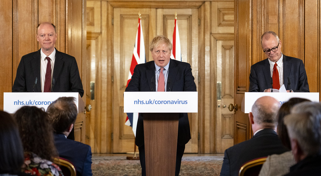 Boris Johnson Covid press
