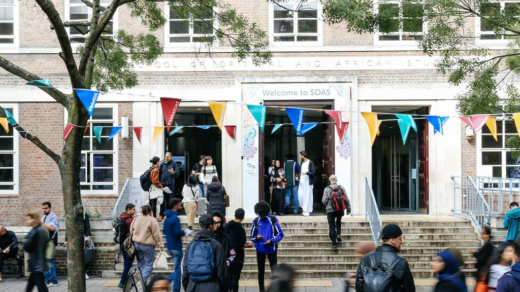 students SOAS clearing