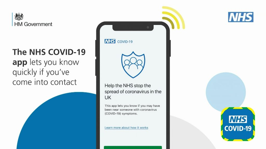 The NHS COVID-19 app lets you know quickly if you've come into contact.