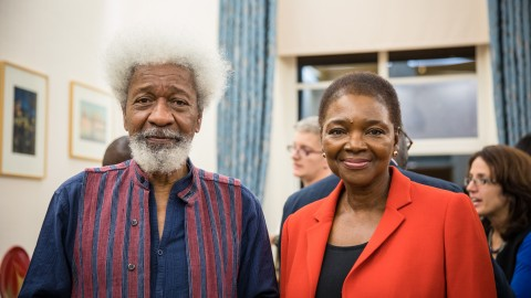"""""""Don't laugh…I'm basically a lazy person"""" Wole Soyinka delights at SOAS"""