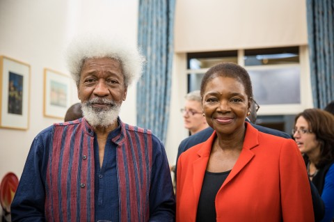 """Don't laugh…I'm basically a lazy person"" Wole Soyinka delights at SOAS"