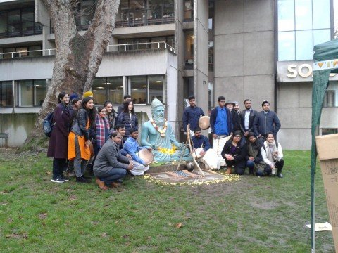 Happy belated Pongal from SOAS