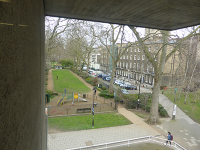 Woburn Square from the SOAS Library