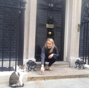 Alumna Katherine Allen - Head of Newsdesk at 10 Downing Street