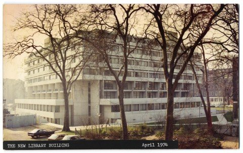 Memories of SOAS library:  better late than never