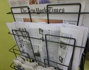Newspapers in SOAS Library