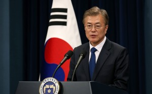 Moon Jae-in in Korea