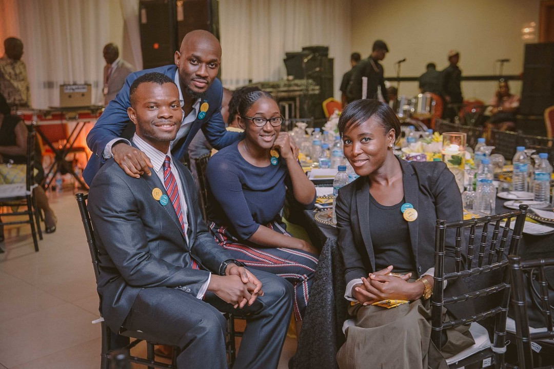Young SOAS alumni out in Lagos
