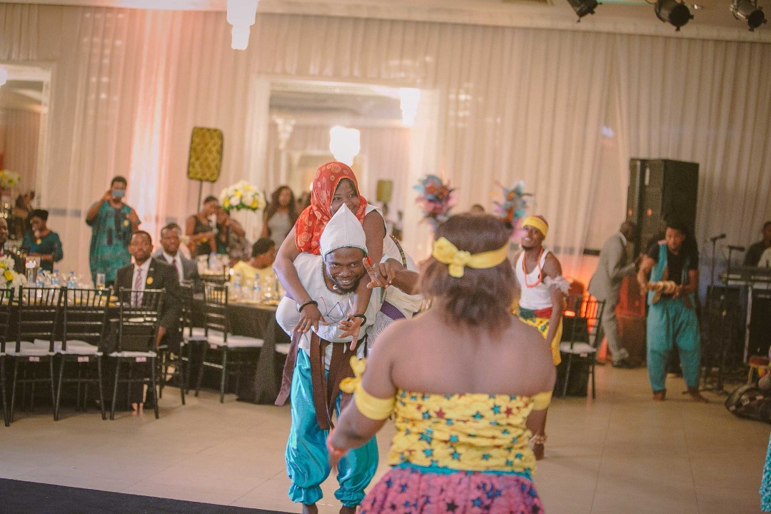 Nigerian dance troupe perform in Lagos