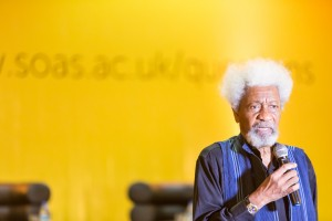 Wole Soyinka in Lagos at SOAS alumni event