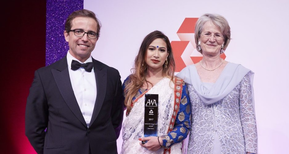 Asian Women of Achievement Awards Fatima Zaman