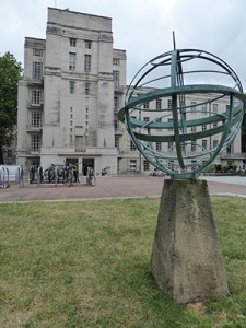 Astrolabe in Torrington Square