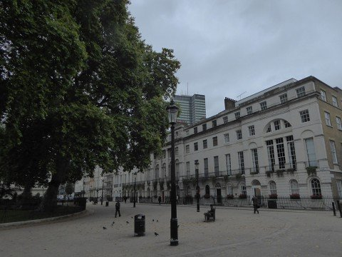 False memories of Fitzroy Square