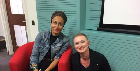 Launch of Zadie Smith's latest book Swing Time