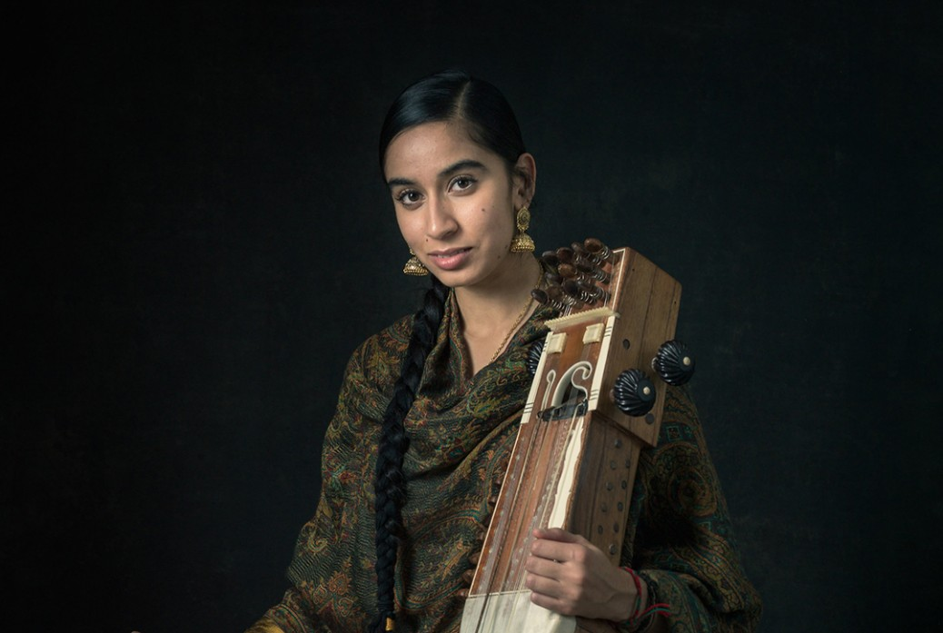 Amrit Kaur Lohia performs at the Bloomsbury Festival