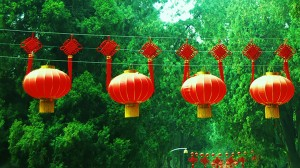 Chinese lanterns in LEAFF film