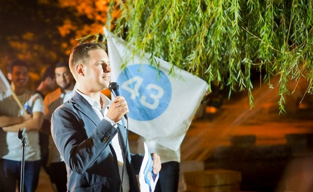 Alumnus Joseph Alexander Smith running for election in Tbilisi, Georgia