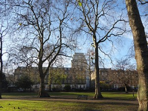 Senate House in Russell Square