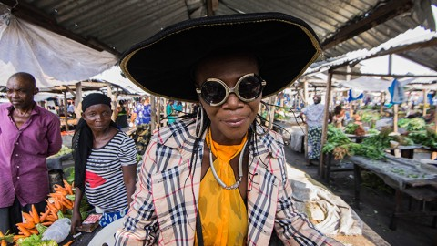 """""""Les Sapeuses"""":  The Lady Dandies of the DRC"""