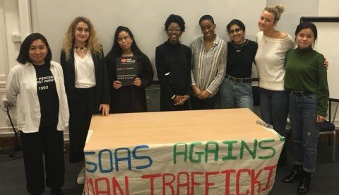Society spotlight: SOAS Against Human Trafficking