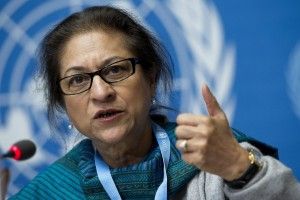 Asma Jahangir - research associate at SOAS University of London