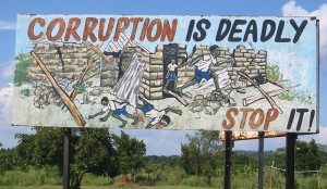 Anti-corruption, Uganda, economics