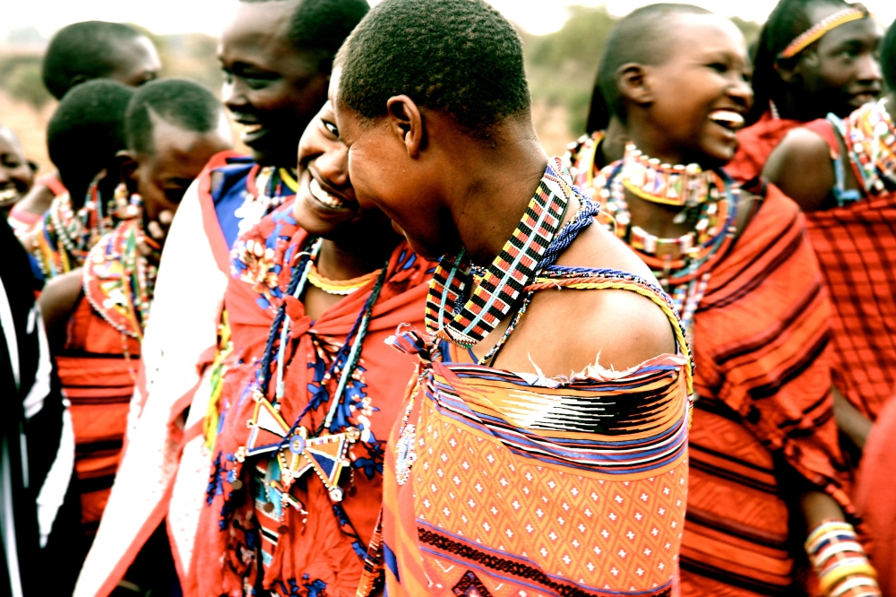 'Beauty of the Maasai', which was taken in Amboseli, Kenya.