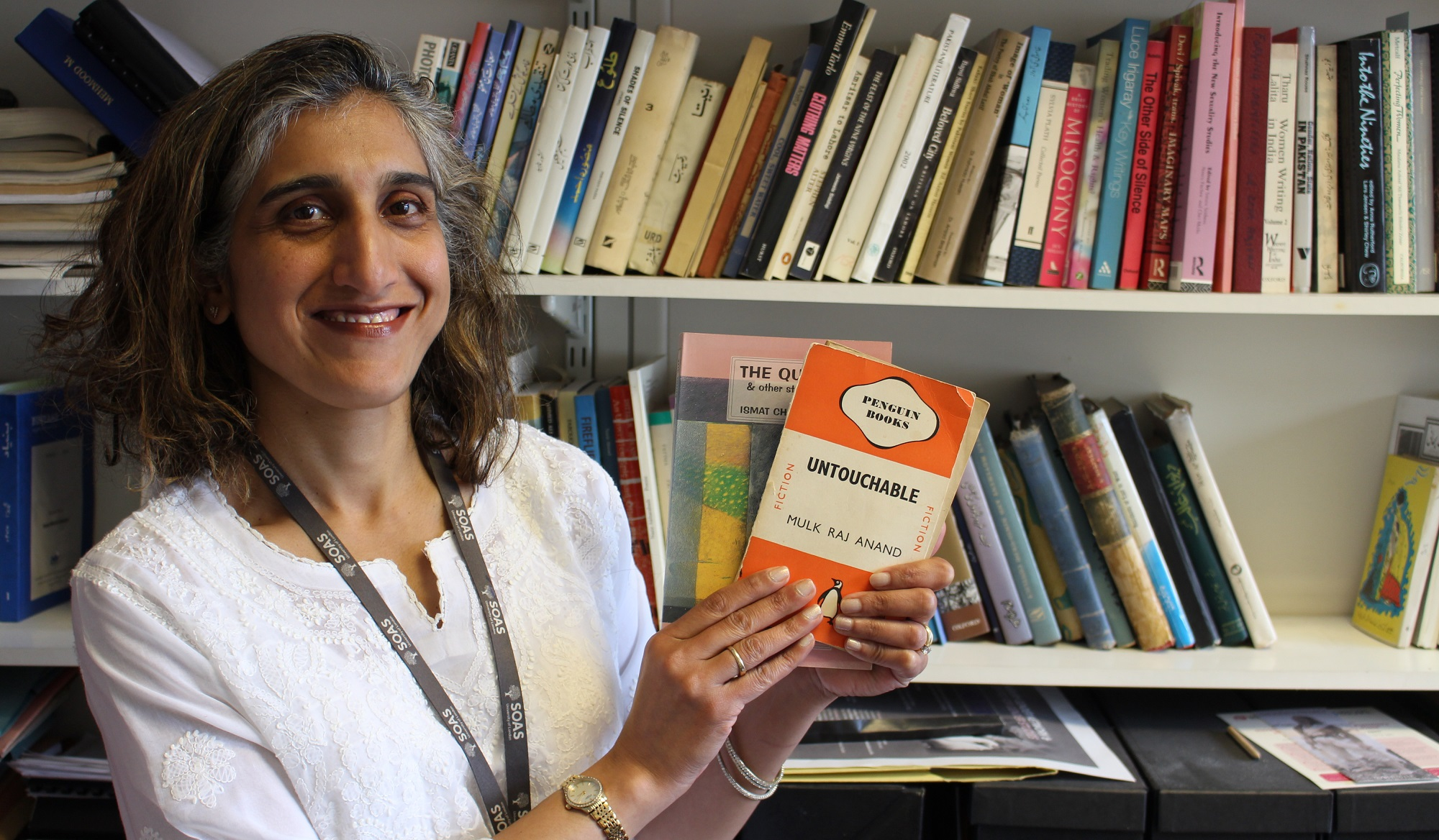 Dr Amina Yaqin, Senior Lecturer in Urdu and Postcolonial Studies, selected Untouchable by Mulk Raj Anand and Lihaaf by Ismat Chughtai amongst others.