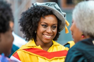 Chimamanda Ngozie Adichie became an Honorary Fellow of SOAS, Graduation 2018
