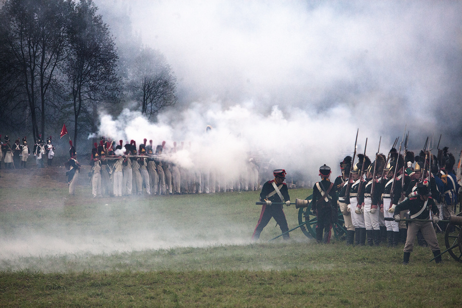 Victor Troynov Battle of Borondino reenactment 2012