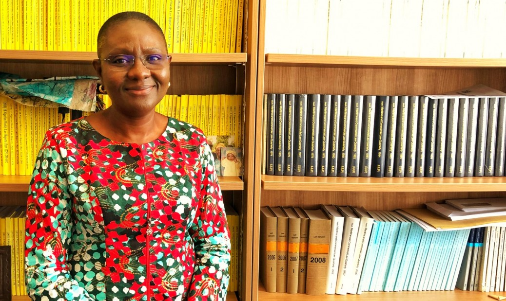 Dr Emilia Onyema, SOAS Law professor in arbiitration
