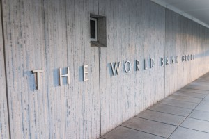 World Bank Group sign on building exterior