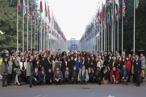 Networking, new friends and 47 nationalities at the UN in Geneva