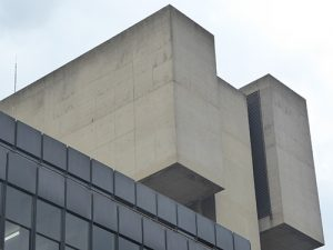 SOAS IOE Brutalism towers