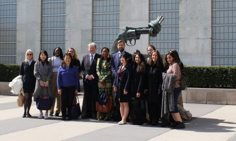 "USA study tour 2019: ""We were like the United Nations!"""