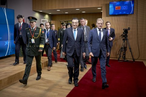 'Systemic rivals': Brussels at odds with Beijing