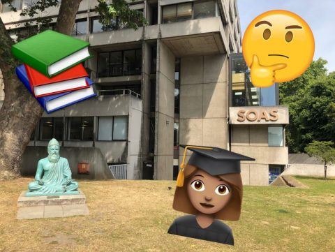 The 5 emojis that represent SOAS