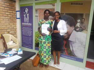 """As a Rwandan woman. """"Being abused and beaten by my husband was a daily routine since the day I got married; but then I found Haguruka, where I got all the help I needed to overcome that hellish situation,"""" Donatille Said."""