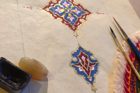 The magic of Islamic Illumination comes to SOAS