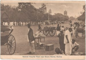 postcard India archive Brunei