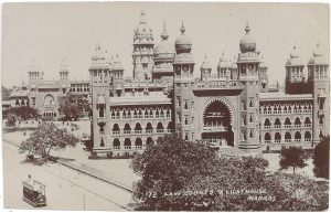Postcard brunei India
