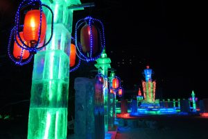 Image of ice sculpture China