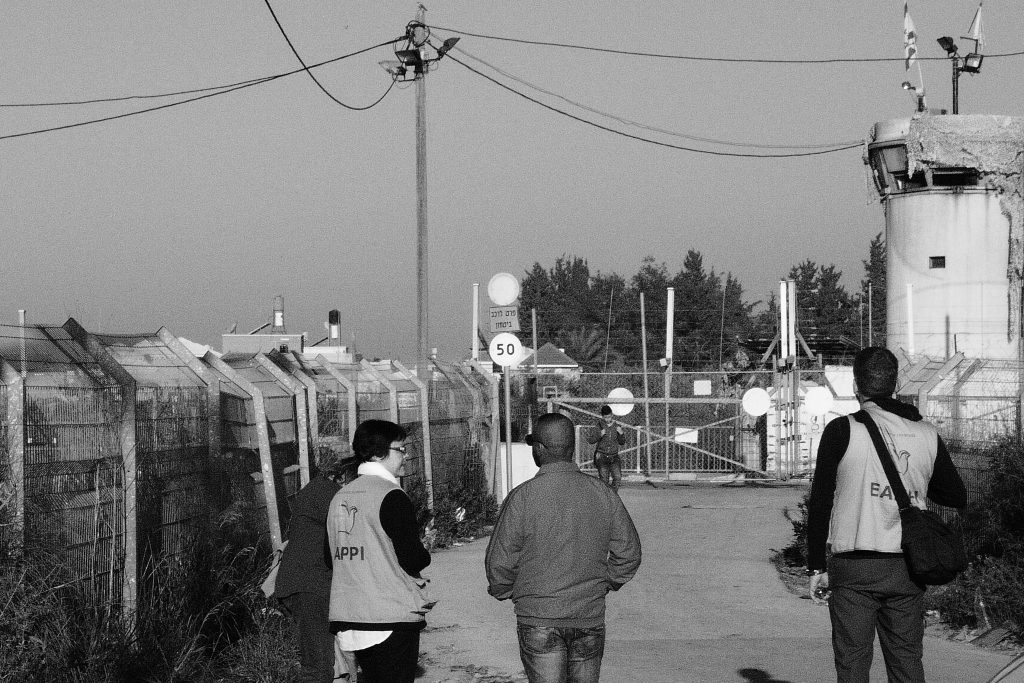 Palestine; Checkpoint; Guman rights monitor Israel