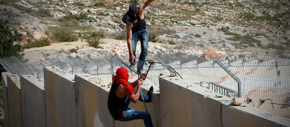 Palestinian activists, Bil'in, Palestine © William Young