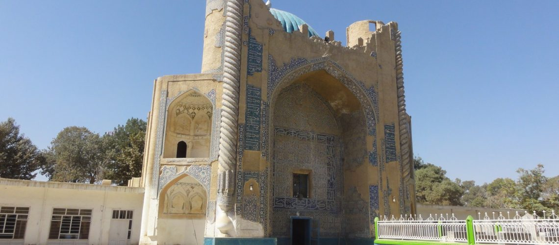 Balkh - Green Mosque