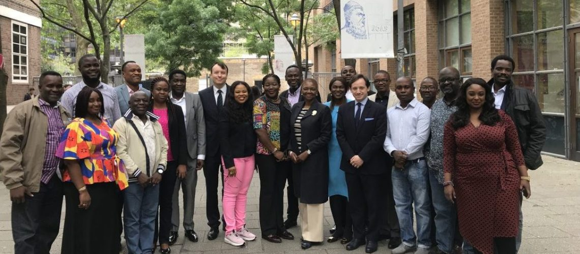 Civil Servants from the Nigerian Maritime Administration and Safety Agency (NIMASA) were welcomed to SOAS on 20 May 2019