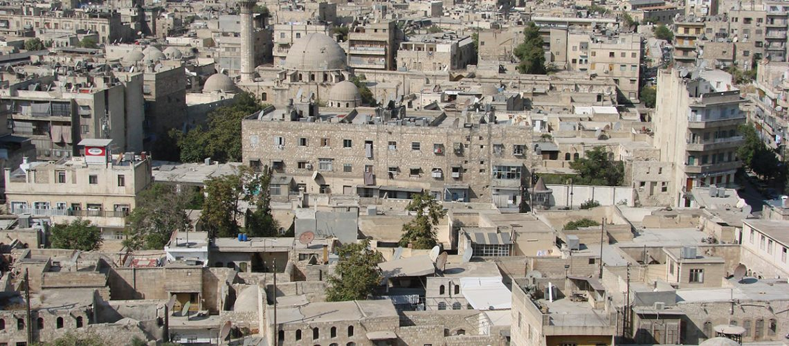 A view of Aleppo, Syria © Watchsmart