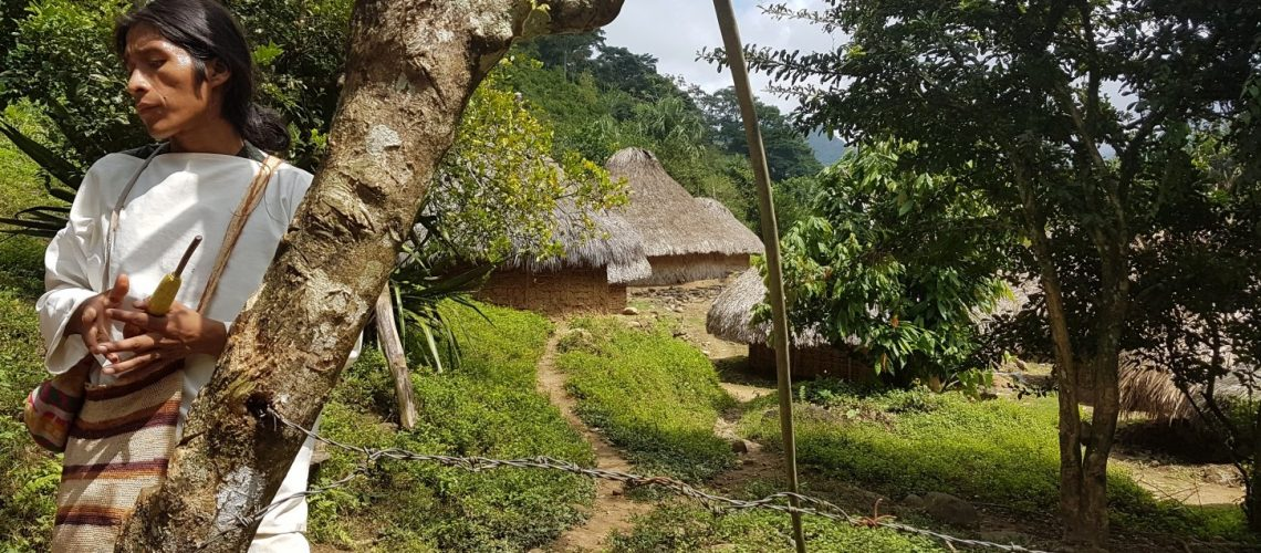 My guide, Pedro*, explains the rich culture and traditions of the Kogui community
